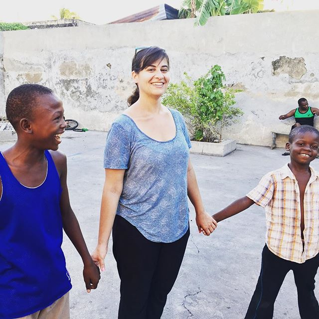 """since you get more joy out of giving joy to others, you should put a good deal of thought into the happiness that you are able to give."" eleanor roosevelt here's to a #happy #monday! jessica, our haiti administrator spreads some joy at a boys home in #lescayes ... where will you spread joy this week? #haiti #hopeforhaiti #joy #givejoy www.hopeforhaiti.com"