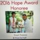 Congratulations to @kreyolessence our partner and the recipient of the 2016 hope award!!! #haiti #changethenarrative #hopeforhaiti #hfhgala2017