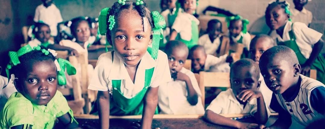 The future of #haiti looks bright #hopeforhaiti #invest #children #timoun #espwa