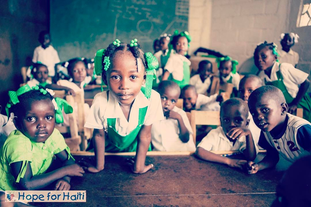 The future of #haiti looks bright #hopeforhaiti #invest #children #timoun #espwa