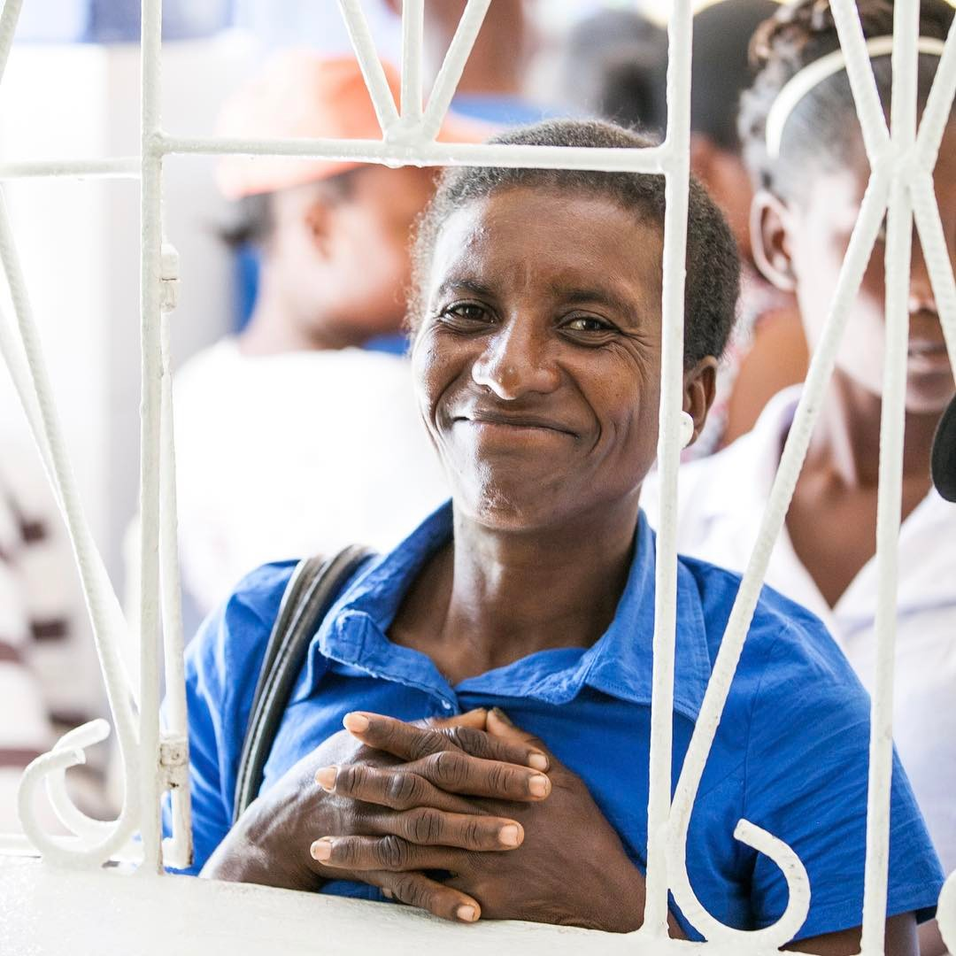 Everyday we see nearly 80 patients at our clinic. because of generous donors like you, we are able to diagnose, treat and help keep these patients heathy at a subsidized rate. now that's something to #smile about! #haiti #hopeforhaiti #healthcare #thankyou