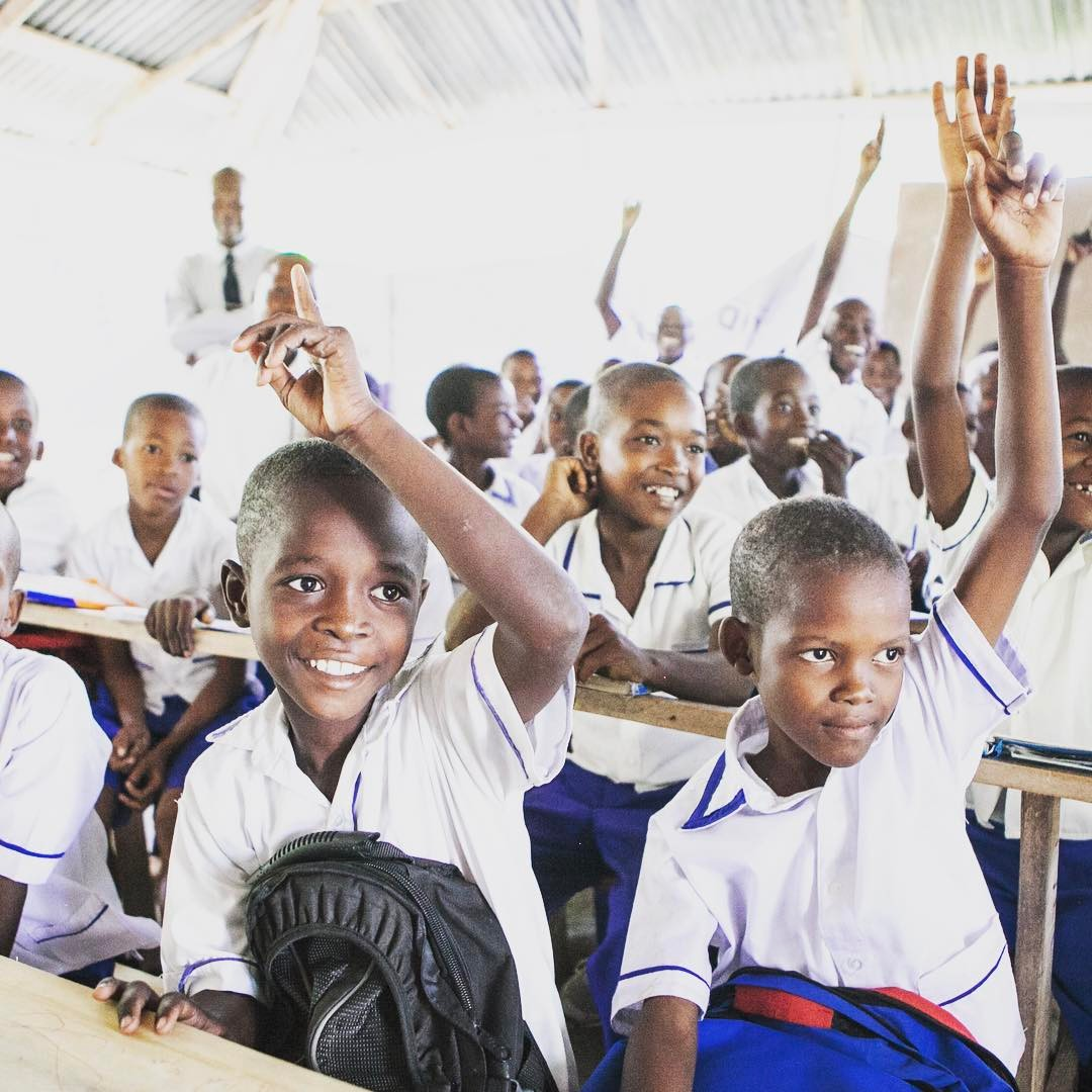 Their future looks bright because of your investment in #education. everyday, over 7,000 children at 24 schools are attending classes that have the resources and motivated teachers to help them become the best they can be. like if you agree ?#haiti #hopeforhaiti #learn #timoun #bonbagay