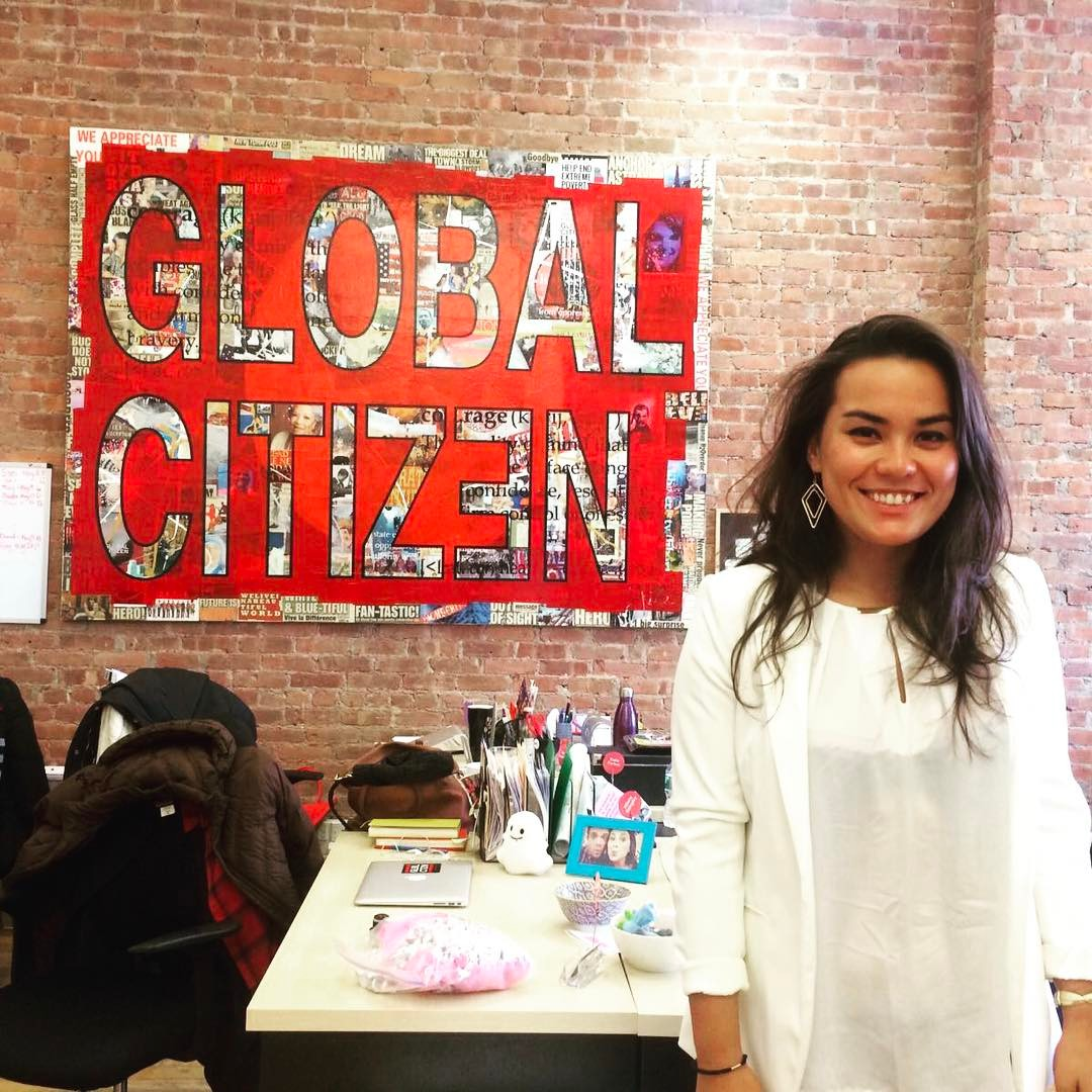 Our healthcare and water program manager @alexongrochowski is spending the week in #nyc with the amazing change makers from @glblctzn ??? #haiti #hopeforhaiti #changemakers