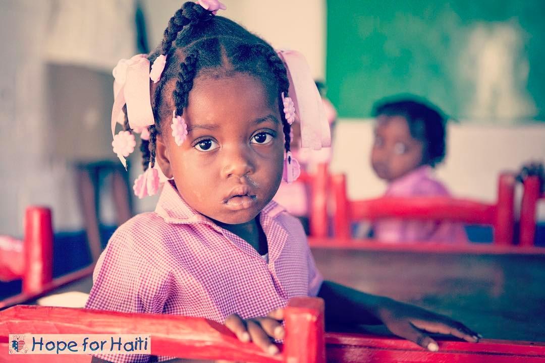 If you had one wish for #haiti, what would it be?! #hopeforhaiti #educate #children #timoun ??