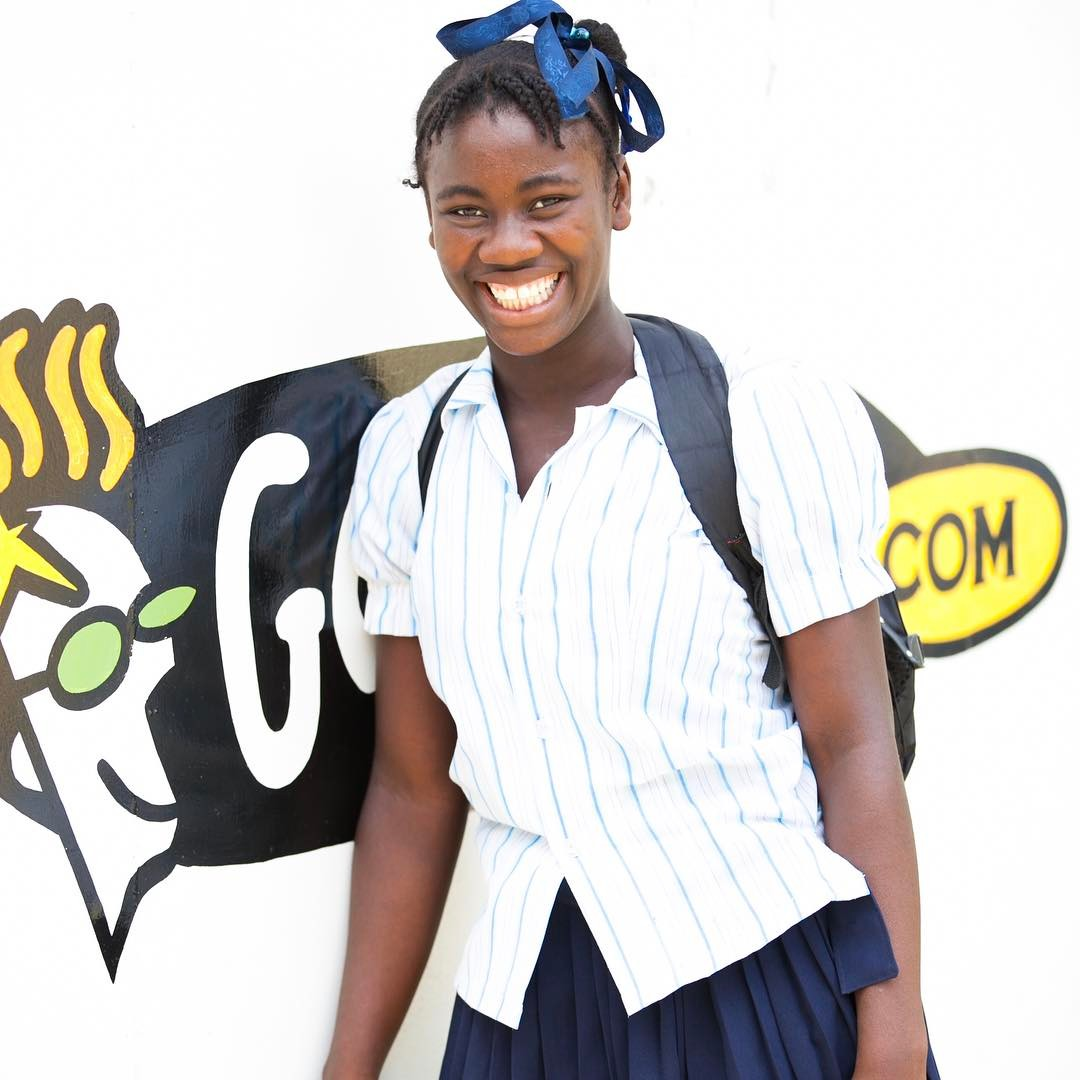 Happy #monday all. what a great week to learn! #haiti #hopeforhaiti #educate #girls