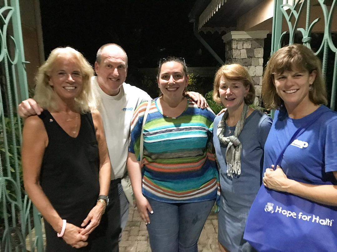 So excited to have @mapintl with us in #haiti for the next few days! #hopeforhaiti #teamwork #healthcare