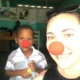 """Join us today on #rednoseday2017 to """"harness the power and astonishing generosity of americans across the country to help end child poverty one red nose at a time!"""" wear your noses and tag us for a feature on our page! #haiti #hopeforhaiti #teamrednose"""