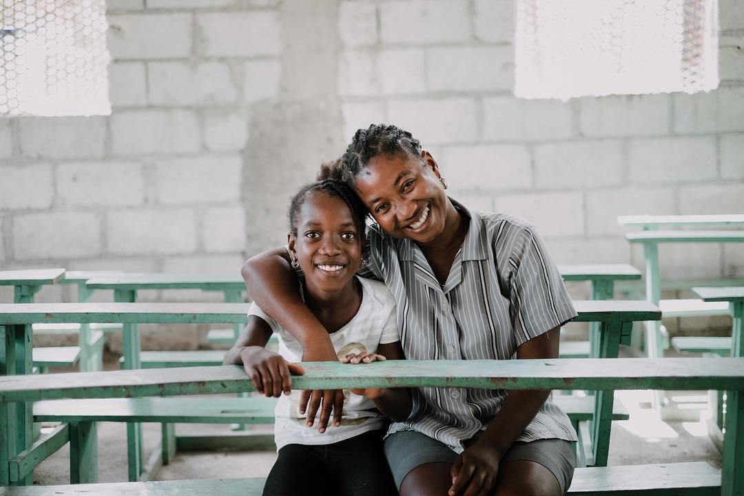 Because she was the first to believe in you. bon fet manman // happy mother's day 🇭🇹 #haiti #hopeforhaiti #mom #mesi photo: scott simock // @scottsimock