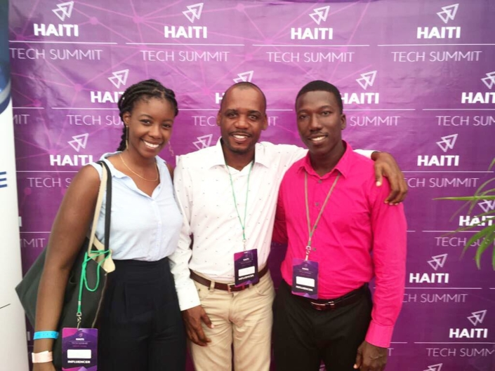 Our economy and education team are participating in the @haititechsummit17 taking place this week. we are excited to be meeting so many amazing companies and people investing in #haiti. #reboothaiti #hopeforhaiti #invest #technology #endlesspossibilities