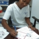 At the end of the day, i prepare patient's prescriptions and paperwork for the next day! thanks for following my day, tune in next monday to learn about what my colleagues do! #dayinthelife #teamhope #haiti