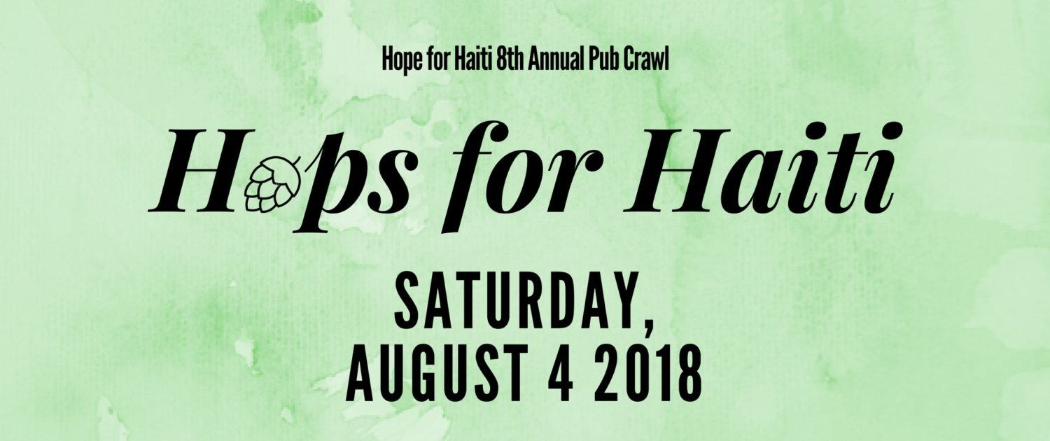 Hops for Haiti Save the Date Graphic