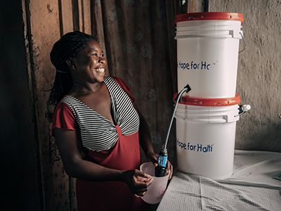 Clean Water Projects In Haiti Distribution Training Filtration